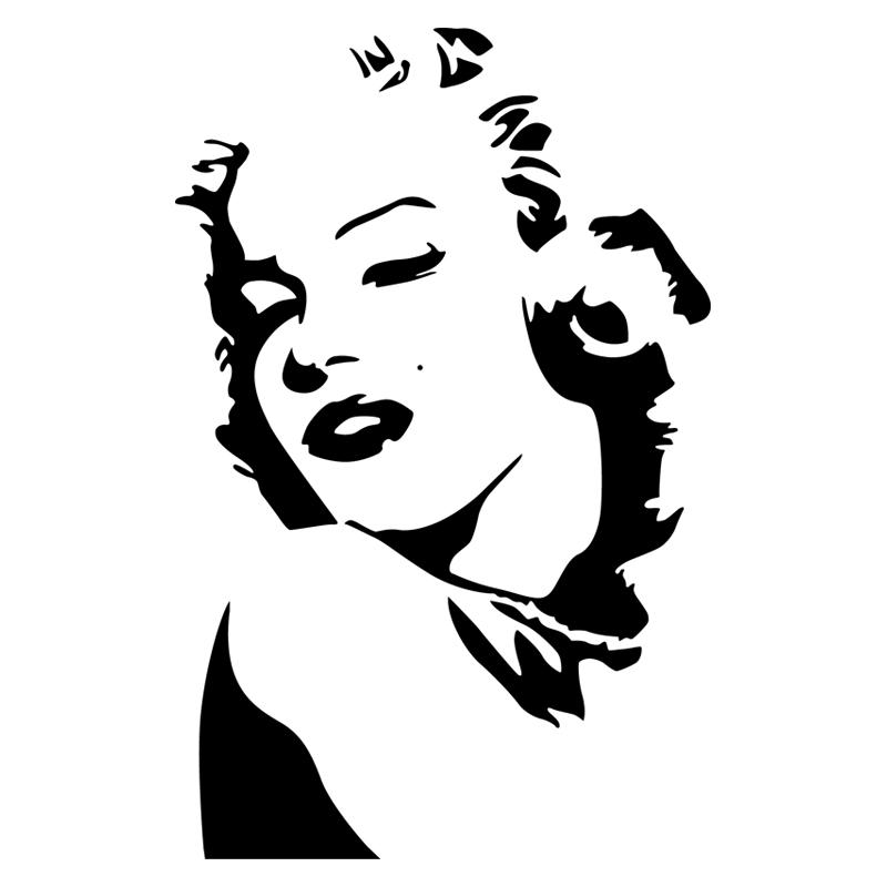 Mac Stickers Avec Marilyn Monroe
